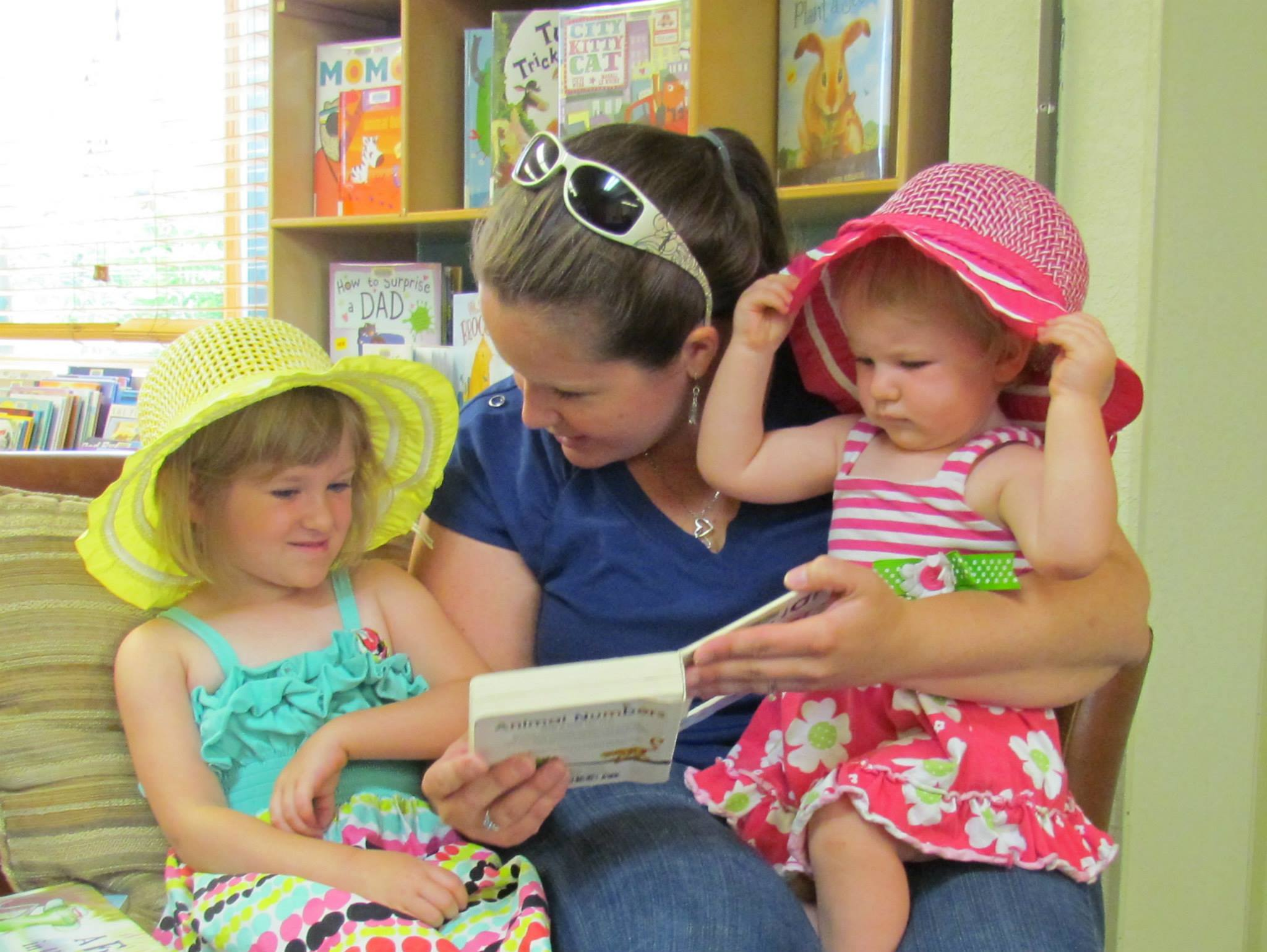 Libraries are wonderful environments for children